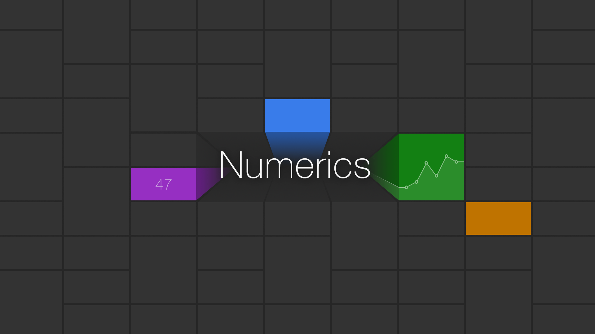Numerics dashboard app
