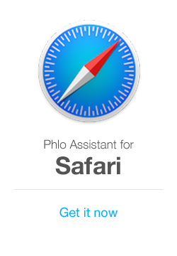 Phlo Assistant for Safari