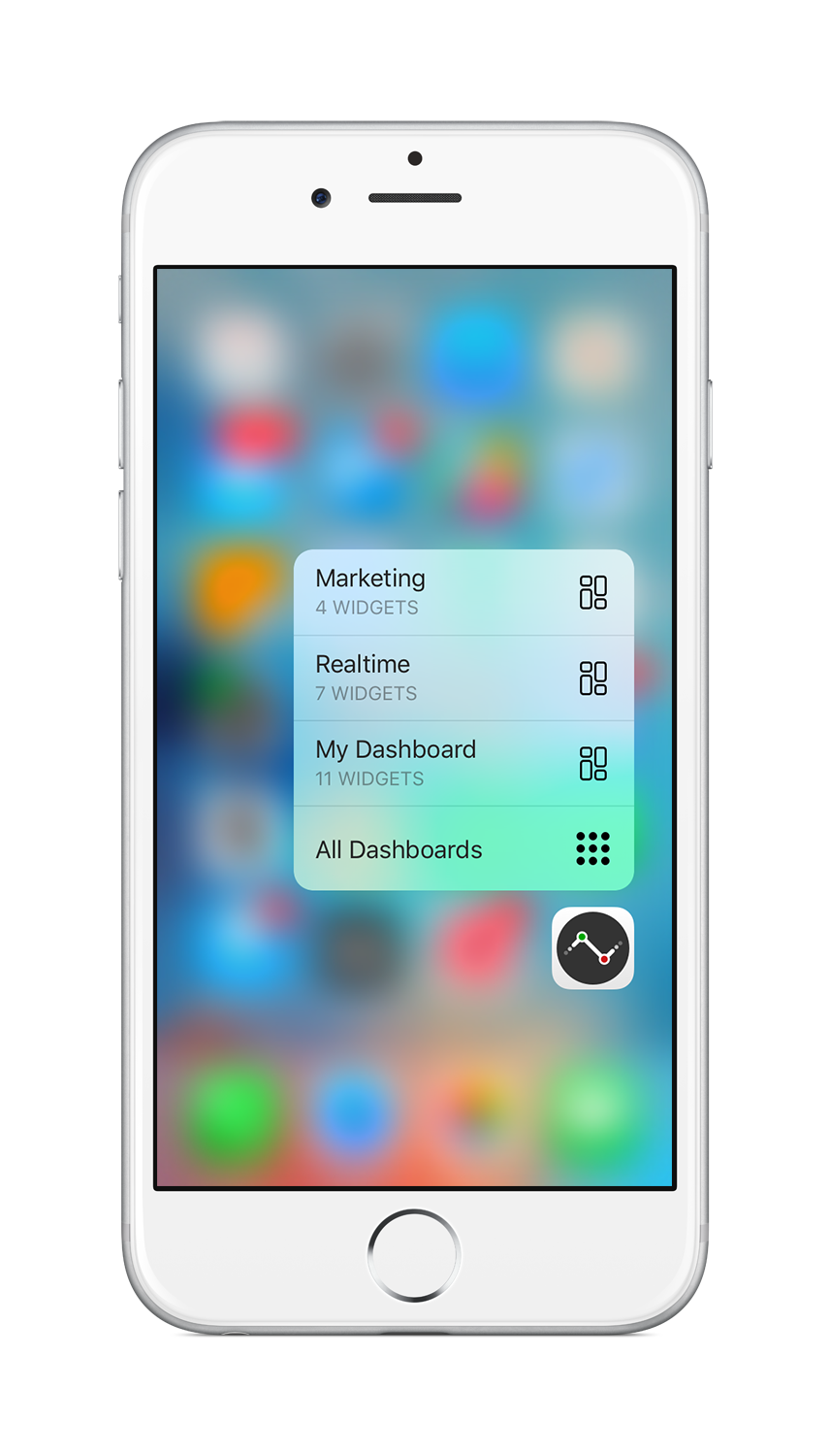 3D Touch support with quick actions