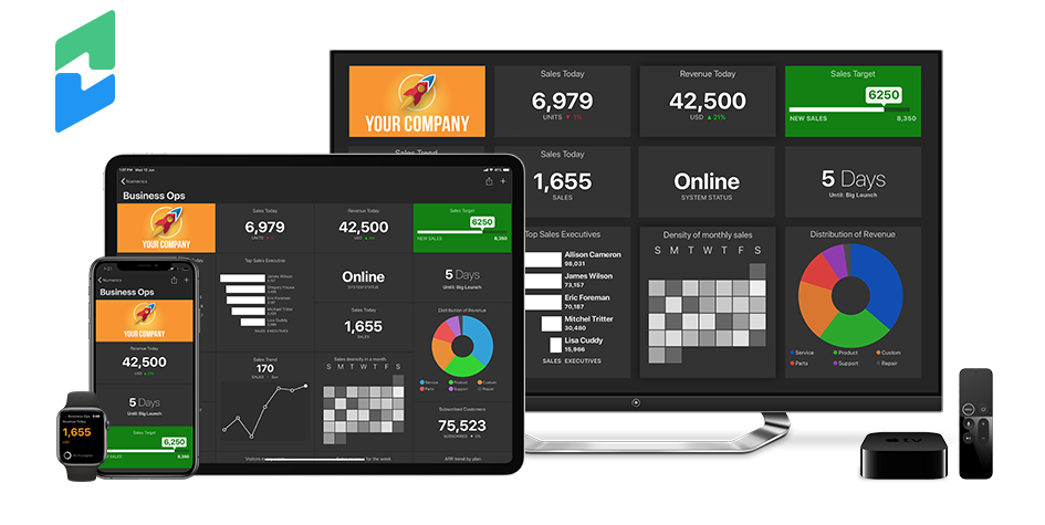 Chargify Dashboards on iPhone, iPad, Apple TV and Apple Watch