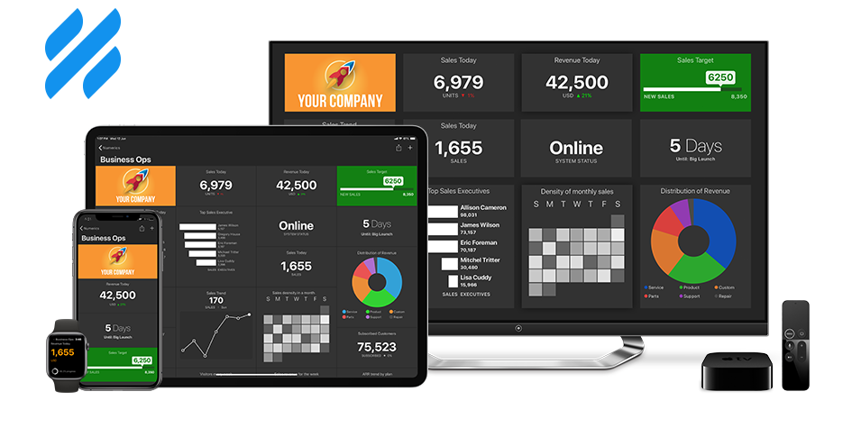 Helpscout Dashboards on iPhone, iPad, Apple TV and Apple Watch