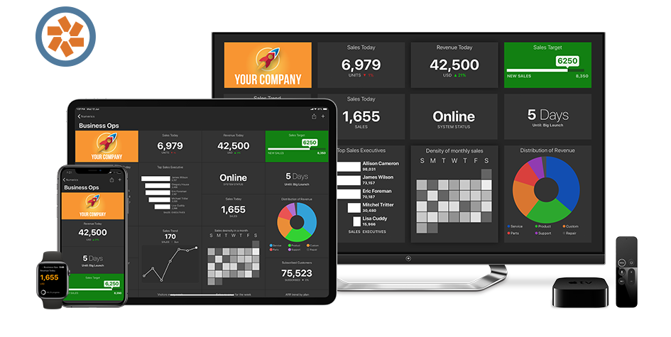Pivotal Tracker Dashboards on iPhone, iPad, Apple TV and Apple Watch